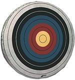 "@ROLLED FOAM TARGET 36""X 7""w/SKIRTED FACE (TO 40# INST.)"