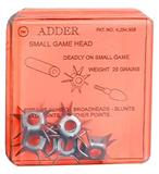 ADDER SMALL GAME POINT 25gr 5PK