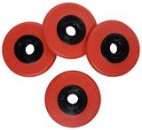 1010363 STEALTH DISCS RED 4PK