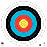"@FT-60cm FITA 10-RING 4-COLOR TARGET FACE 25""x25"""