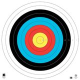 "@TA-122cm FITA 10-RING 4-COLOR TARGET FACE 50""x50"""
