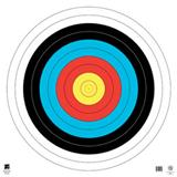 "@TA-80cm FITA 10-RING 4-COLOR TARGET FACE 34""x34"""