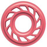 "HDS RUBBER BODY 3/8"" PINK PR"