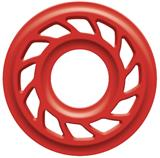 "HDS RUBBER BODY 3/8"" RED PR"
